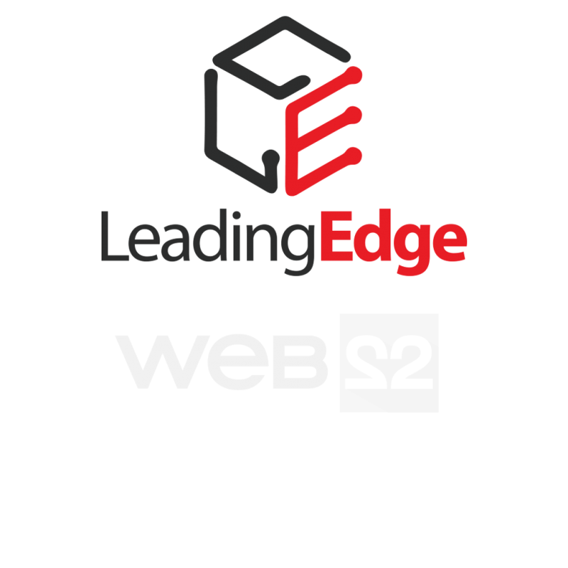 Design logo Leading Edge - Sisteme CRM