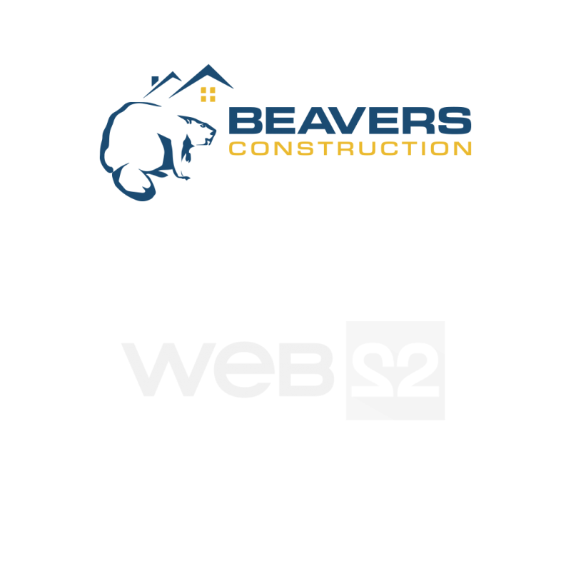 Creare logo design Beavers Construction - Constructii civile si industriale